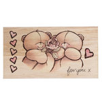 FOREVER FRIENDS WOODEN STAMPS - 11er Set - (FFSSTAMPSET)