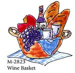 "Art Impressions Stempel - Golden Oldies ""Wine Basket"" (UMM 2823)"