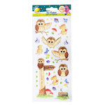 Woodland Fun Stickers (6pcs) - (WOO FUNSTICKER)
