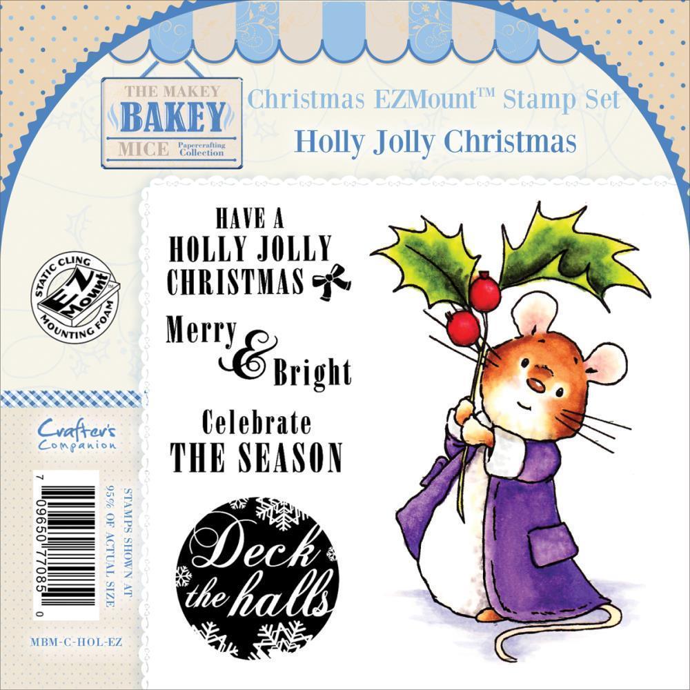 A Holly Jolly Christmas.Holly Jolly Christmas Stempel Set Mbm Chol Ez