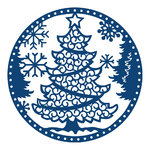 Tattered Lace Dies - Christmas Tree Snowglobe - (TTL/D485)