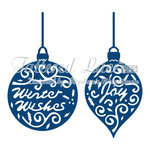 Tattered Lace Dies - Greeting Baubles - (TTL/D114)
