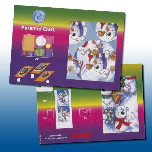 pyr42 pyramide bastelset 506 6070 rentier b r weihnachten basteln sie mit. Black Bedroom Furniture Sets. Home Design Ideas