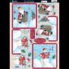 Kanban - Stanzbogen Toppers - Winter Friends Red (PCT 1055)