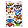 A4 FLUTTERDIES TOPPERS - PEARLESCENT A - (ANT 157502)