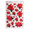 A4 POINSETTIA TOPPERS - METALLIC A - (ANT 157900)