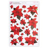 A4 POINSETTIA TOPPERS - PEARLESCENT A - (PMA 157902)