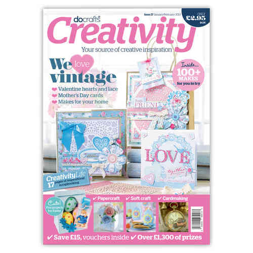 docrafts® Creativity Magazin No.37 - Jan./Feb.2013