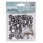 "4 x 4"" Urban Stamp - Chronology - Cogs - (PMA 907142)"