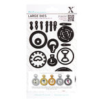 Dies (21pcs) - Chronology - Pocket Watch (Large) - (XCU 503152)