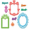 Spellbinders™ Shapeabilities® - Jewel Framed Sentiments (S5-144)