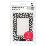 A6 Embossing Folder - 12 Days of Christmas - Holly - (XCU 515903)