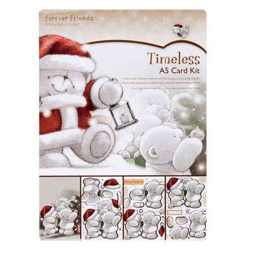 A5 Card Kit - Timeless (Christmas Trimmings) - (FFS 150611)