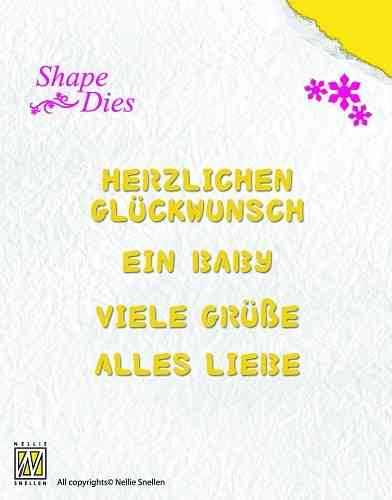 Shape Dies German texts-1 - (SD 027)