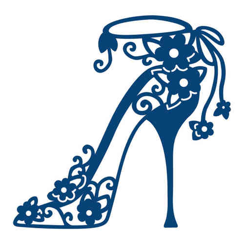 Tattered Lace Shoe Die