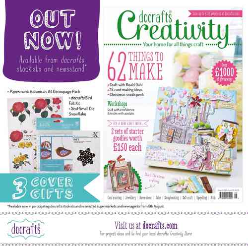 Creativity Mag. - Issue 49 - August 2014 - docrafts (DCCM 049)