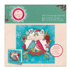 6 x 6'' Decoupage Card Kit - Bellissima Christmas