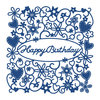 Tattered Lace Dies - Happy Birthday Tapestry - (TTL/D490)
