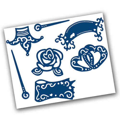 Tattered Lace Dies - A Piece of Cake Embellishment - (TTL/D194)