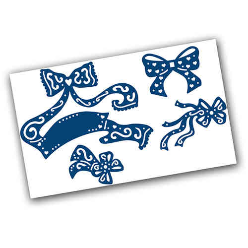 Tattered Lace Dies - Fancy Bows Dies - (TTL/D295211)
