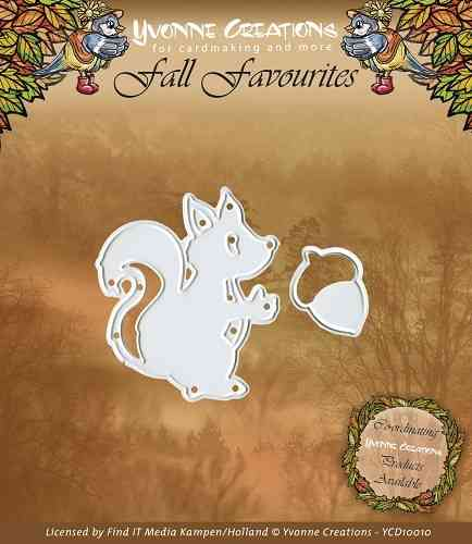 Yvonne Creations - Fall Favourites - Squirrel