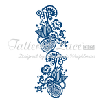 Tattered Lace Dies - Hidden Sweetheart Edge  - TTL/D278