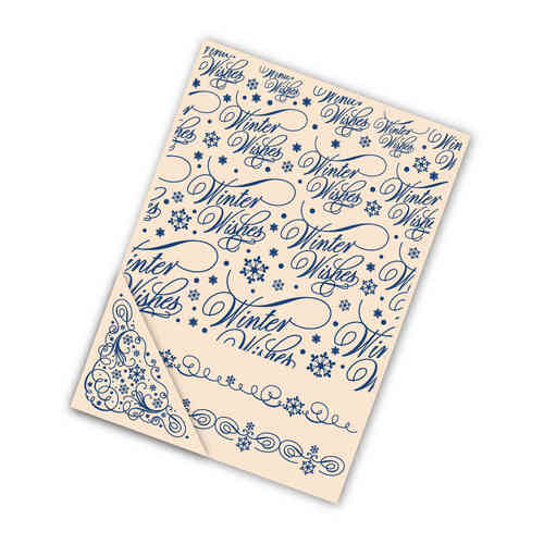 Tattered Lace Embossing Folder - Winter Wishes - (TTL/EF010)
