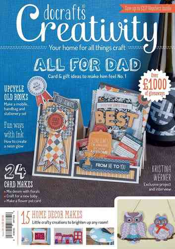 Creativity Mag. - Issue 58 - Mai 2015 - docrafts (DCCM 058)