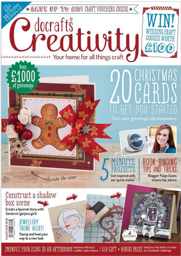 Creativity Mag. - Issue 62 - September 2015 - docrafts (DCCM 062)