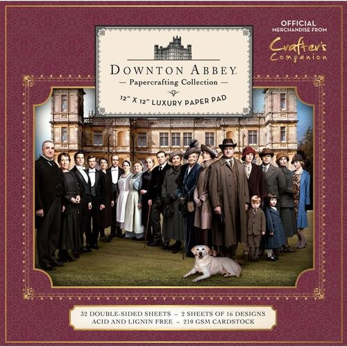 Downton Abbey - 12x12 Luxury Paper Pad