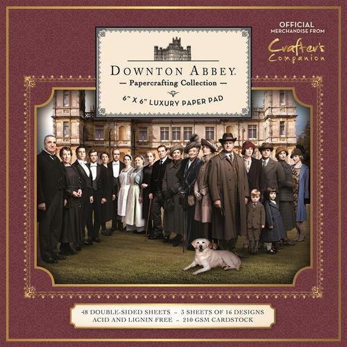 "Downton Abbey - 6x6"" Luxury Paper Pad"