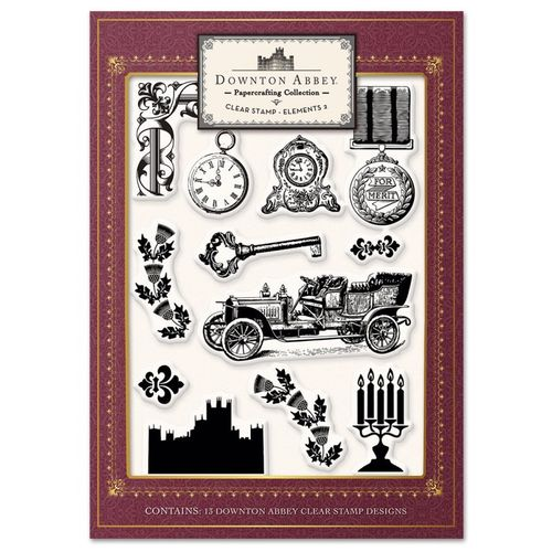 Downton Abbey - Clear Stamp Elements 2