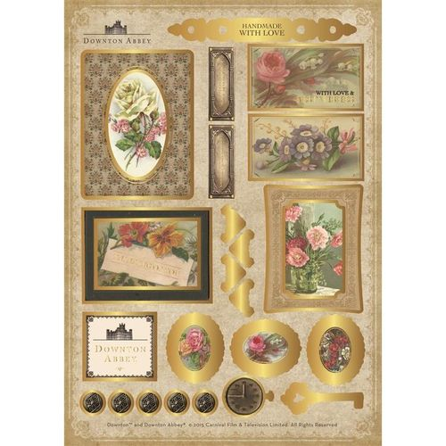 Downton Abbey - Die Cut Toppers Set 2