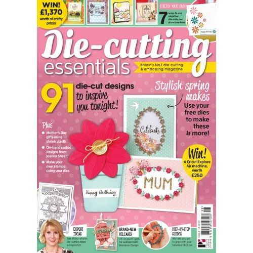 Die-Cutting Essentials No.8 - Magazin - (DCE08)