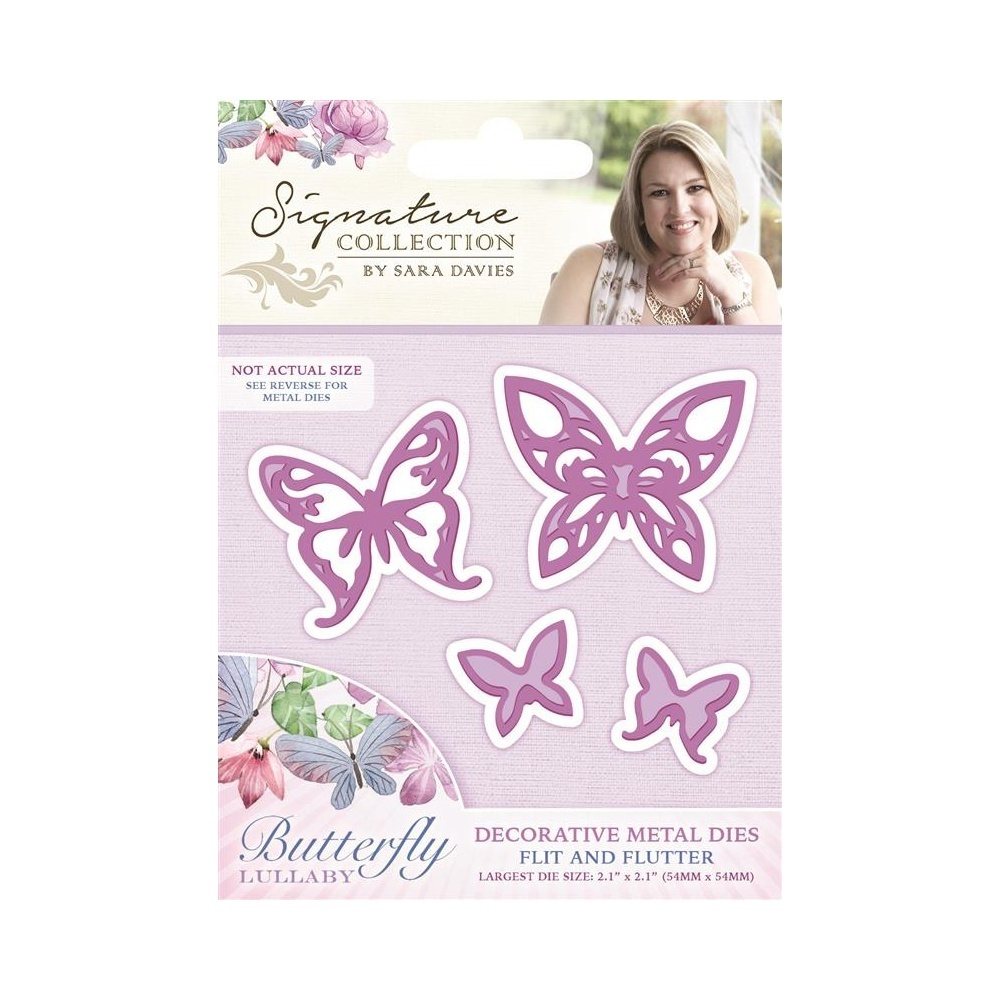 Sara Sign. Collection - Butterfly Lullaby Die - Flit and Flutter