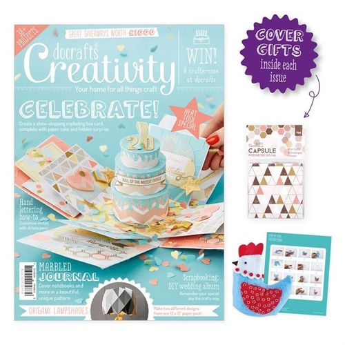 Creativity Mag. - Issue 69 - April 2016 - docrafts (DCCM 069)