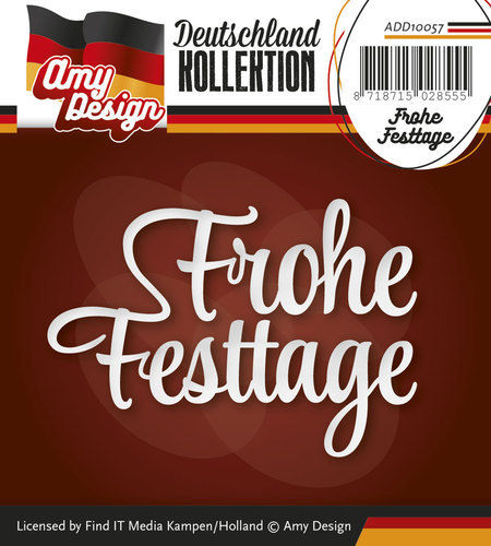 Die - Amy Design - Deutschland Collection - Frohe Festtage