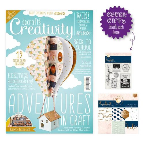 Creativity Mag. - Issue 73 - August 2016 - docrafts (DCCM 073)