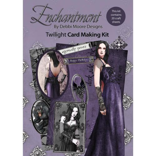 Twilight Queen - Enchanted Card Making Kit