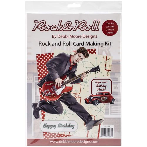 Rock´n Roll Card Making Kit
