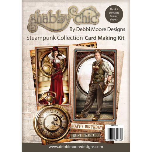 Shabby Chic - Steampunk Collection Card Making Kit