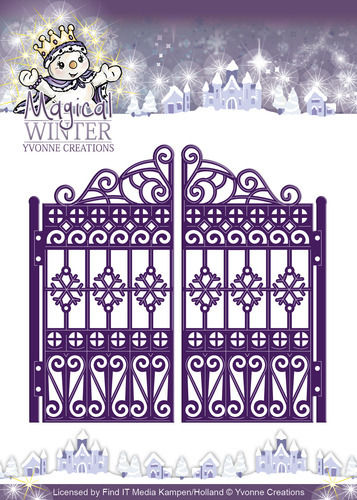 Die - Yvonne Creations - Magical winter - Gate