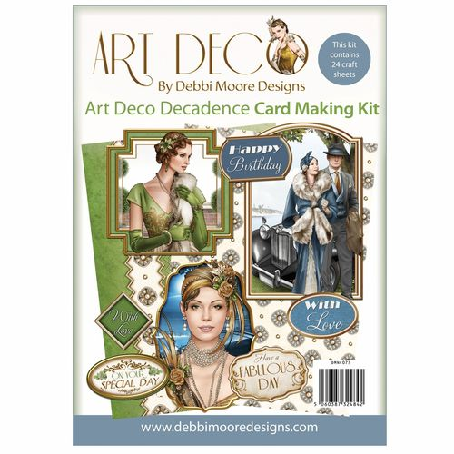 Art Deco - Decadence Card Making Kit