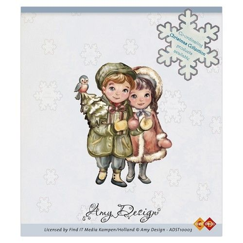 Clearstamp - Amy Design - Christmas Couple