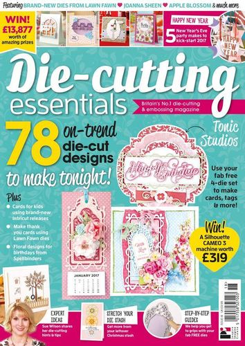 Die-Cutting Essentials No.18 - Magazin - (DCE18)