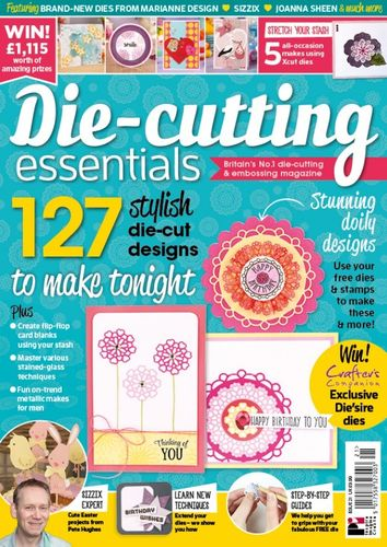 Die-Cutting Essentials No.21 - Magazin - (DCE21)