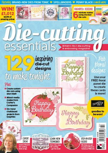 Die-Cutting Essentials No.22 - Magazin - (DCE22)
