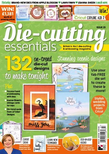 Die-Cutting Essentials No.23 - Magazin - (DCE23)