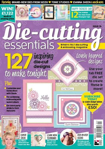 Die-Cutting Essentials No.24 - Magazin - (DCE24)