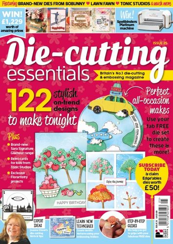 Die-Cutting Essentials No.25 - Magazin - (DCE25)
